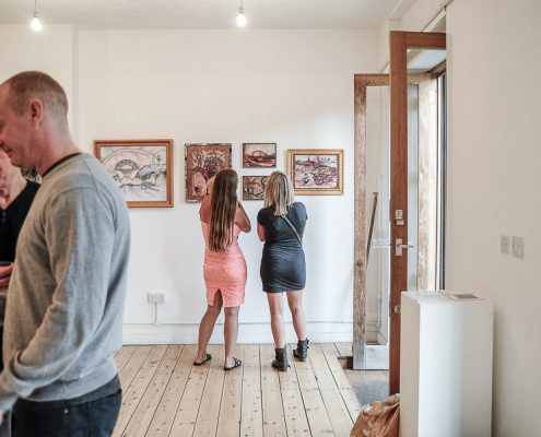 THE BRICK LANE GALLERY CONTEMPORARY PAINTING